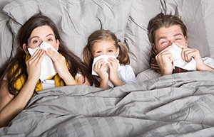 The mattress as health risk. Problem for many people by allergies